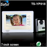 High definition 7 color tft lcd home automation door for Define home automation