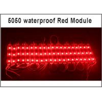 China waterproof SMD 5050 LED light module LED backlight modules Yellow/Green/Red/Blue/White/Warm White Waterproof IP65 DC12V wholesale