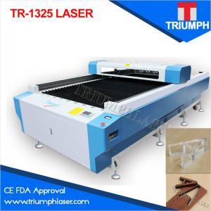 Buy cheap УПРАВЛЕНИЕ ПО САНИТАРНОМУ НАДЗОРУ ЗА КАЧЕСТВОМ ПИЩЕВЫХ ПРОДУКТОВ И МЕДИКАМЕНТОВ КЭ триумфа изготовляет 1.3*2.5м 1325 автоматов для резки лазера для акрилового деревянного неметалла ткани product