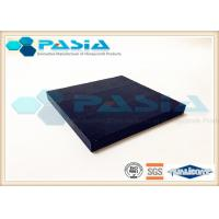 Basalt Stone Veneer Fiberglass Honeycomb Board , Finishstone Composite Panels Tear Proof