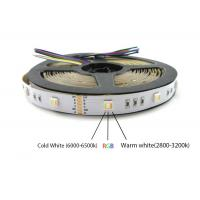China DC24V 60LED 5 color in one LED 5050 SMD RGBWW can replace 5050 RGB RGBW Cct led strip light on sale