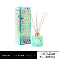 Buy cheap Customized Fragrance Room Fragrance Reed Diffusers Color Painting For Home Decoration product