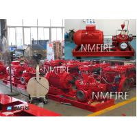 Buy cheap 1000GPM@119PSI, Ul Listed ,MOTOR DRIVER ,Split casing Pump set ,50HZ/400V from wholesalers