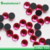 Buy cheap China wholesale fuchsia lead free crystals, 4mm round flat back lead free crystals product