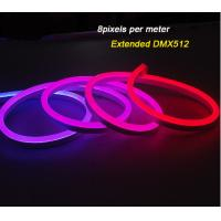 Buy cheap IP68 DMX512 Outdoor LED Chasing Christmas Lights / RGB Neon digital Flexible LED Strip Lights from wholesalers
