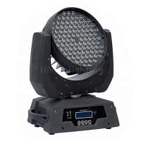 Buy cheap 108x3w RGBW Color Mixing Rainbow Effects DMX LED Moving Head Wash Light product