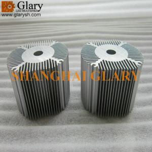 Buy cheap Radiateur rond en aluminium d'extrusion de GLR-HS-787 72mm, refroidisseur mené d'étoile product