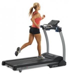 Buy cheap LifeSpan TR 1200i Folding Treadmill (2012 Model) product