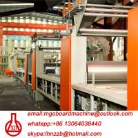 China Fully Automatic Fire Resistant Mgo Slab / Magnesium Oxide Board Production Line on sale
