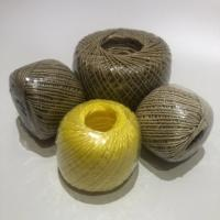 Quality 2mm PP Twine Ball Polypropylene Twine Twisted , White Baler Twine for sale