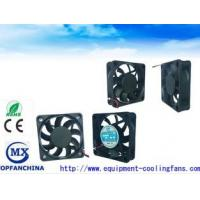 Buy cheap Compact PWM FG 60mm x 60mm x15mm DC  Axial Fans High Speed Ball / Sleeve Bearing 60CM / Cooling fan product