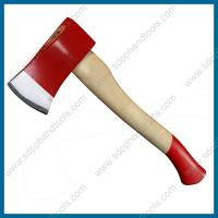 China axe with wood handle, hatchet with wood handle, ash handle axe, hickory handle axe on sale