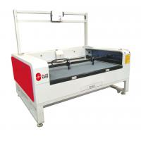 Buy cheap Flying Leather Cutting Machinery For Sublimation Textile product