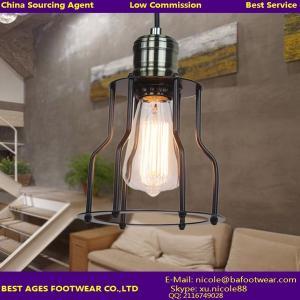 Buy cheap Lámpara ligera pendiente de la lámpara de la ejecución de Droplight del nuevo del vintage metal del negro product