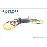 Single / Multi Channel Electrical Slip Rings Industrial With 12 Circuits , 2000RPM Max Speed