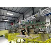 Quality Compostable Paper Pulp Molding Machine / Manual Tableware Food Tray Line for sale