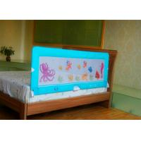 Buy cheap 150cm Blue Collapsible Security Bed Guard Rail for toddler bed from wholesalers