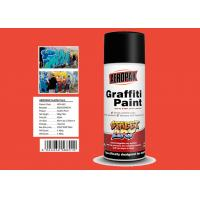 Buy cheap Engineering Orange Color High Gloss Spray Paint For Advertising Industry product