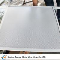 Buy cheap Decorative Perforated Metal  Round Opening Wire Mesh by Stainless Steel Plate product