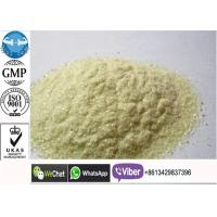 Buy cheap GMP Raw Anabolic Trenbolone Acetate Steroid Powder , 434-03-7 Peptides For Muscle Growth product