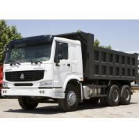 Tipper Dump Truck SINOTRUK HOWO 10 wheels can load 25-40tons Sand or Stones