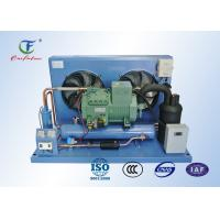 China R404a Bitzer Refrigeration Compressor Unit , Reciprocating Walk In Cooler Condensing Unit on sale