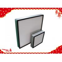 Buy cheap Aluminum frame glassfiber deep-pleated Hepa filter for ventilation system product