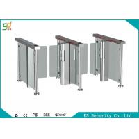 Fingerprint Rfid Supermarket Swing Gate Semi Automatic  High Security Turnstile