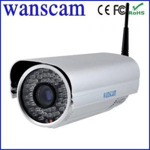 Caméra imperméable d'IP de Wifi IR Megapixel de bourdonnement optique de la haute définition 3 x de la vision 2MP de Wanscam-nuit