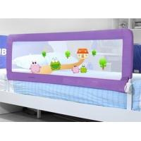 China 1.5m Long Safety 1st Portable Child Bed Rail For Kids Twin Bed Blue Frame on sale