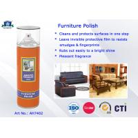 Buy cheap Household Care Highly Efficient Furniture Polish Aerosol Can Anti-UV and Eco-friendly product