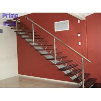 Buy cheap Wood Staircase Stainless Steel Cable Railing product