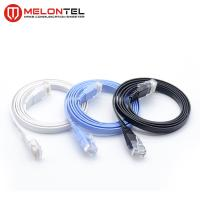 Buy cheap Colourful RJ45 Network Patch Cord MT 5004 , Cat6 Flat LAN Patch Cord With Boot from wholesalers