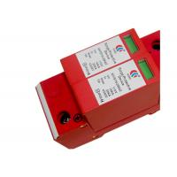 Buy cheap DC Voltage Solar Surge Protection Device Single Phase 2 Poles For Photovoltaic product