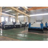 China 10 * 3200 Mechanical Metal Sheet Cutter Machines That Use Hydraulics 11KW on sale