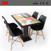 China The interactive dining table for malls, and airports - offers customers a state-of-the-art ordering system, entertainmen on sale