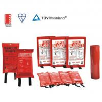China EN1869 Standard Emergency Fire Blanket Smoothness For Homes And Small Fires on sale