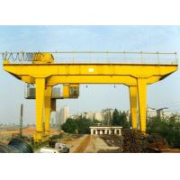 Buy cheap Rail Mounted Double Girder Gantry Crane Truss Type 40 - 500T Lifting Capacity product