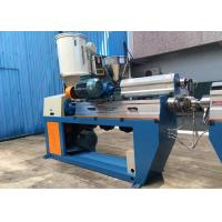 Fully Automatic XLPE Wire Extruder Machine With Caterpillar / Take Up Machine