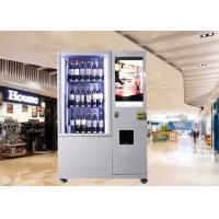 Buy cheap Bottles / Cans / Snacks Mini Mart Vending Machine Customed with Network LCD Advertising Display product