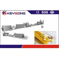 China Single Screw Extruder Automatic Noodle Machine Italy Pasta  Plant on sale