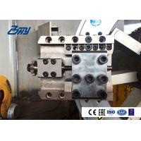Buy cheap Auto Feed Hydraulic Pipe Cutting And Beveling Machine , Steel Pipe Beveler product