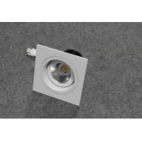 China LED ceiling lights with  180 degree rotating structure, 7w, 75mm cutout, Ra>82 wholesale