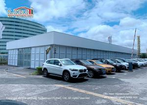 Buy cheap High Quality Aluminum Cube Structure Exhibition Tent ABS Hard Wall Car Show product