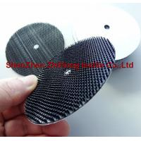 Buy cheap Polishing abrasive backing pad with heavy duty Velcro  hook and loop fastener product