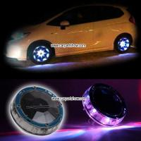China Car solar charging Colorful Wheel Lights aftermarket wheel LED light seven color LED-2066CW wholesale