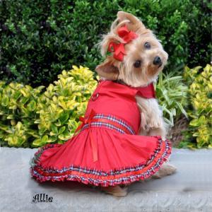 China Одежды собаки породы шотландки Tartan малые одевают для yorkie девушки, чихуахуа on sale