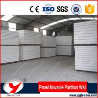 China Fireproof EPS or XPS partition walls magnesium oxide sandwich panel on sale