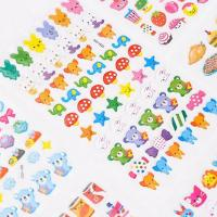 Buy cheap Cute Animal Zoo 3D Crystal Resin Stickers School Stationery Use product