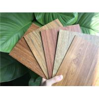 Buy cheap Residential LVT Wood Flooring Recycled Sound Absorption UV Coating With Click System product